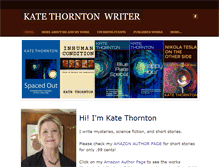 Tablet Preview of katethornton.net